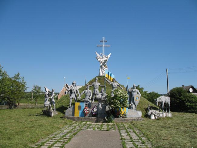 Могила в с. Саджавка