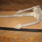 Якір, знайдений у р.Прут