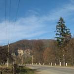 с. Великий Рожин - скала над Черемошем