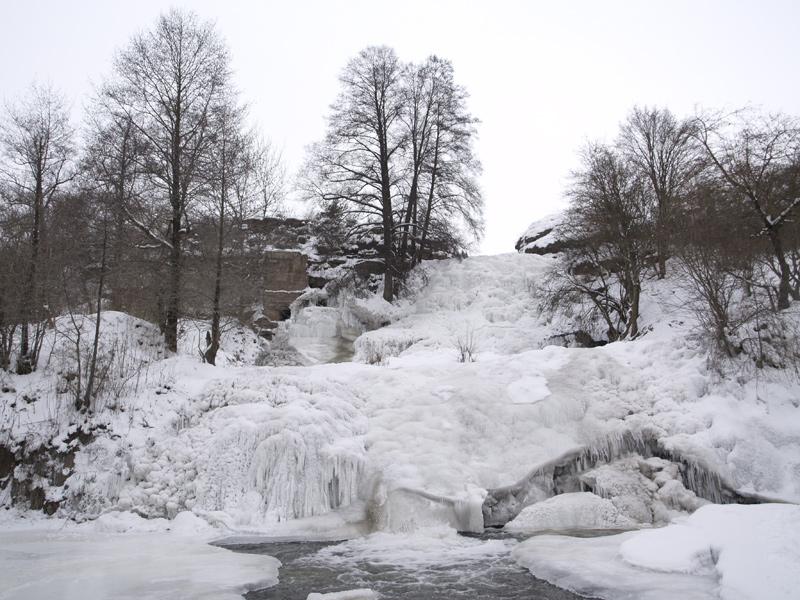 Водоспад джуринський водоспад – низ