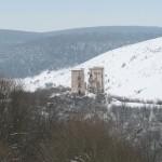 Зимові водоспади - Джуринський і Дівочі сльози