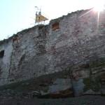 Задня стіна замку