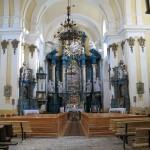 Інтер'єр костелу
