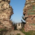 Вигляд з замку на монастир