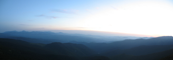 Захід сонця на Попі Івані