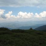 Чорногірський хребет (на задньому плані від Петроса до Бребенескула)