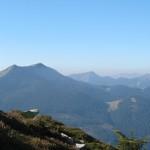 Зліва направо - Довбушанка, Ведмежик, на задньому плані-Поленський і Козя Гора, ще далі - Ігровець і г.Висока