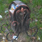 Кований смітник