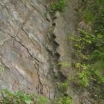 Скелі біля дороги