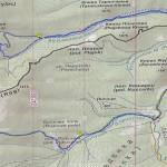 Карта з маршрутом