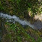 Лужківський водоспад (вид згори)
