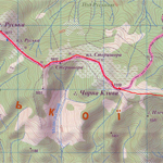 Склеєна карта маршруту