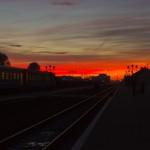 Схід сонця в Коломиї