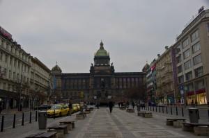 Площа з Національним музеєм