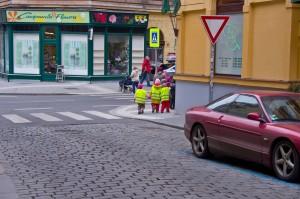 Перехід через вулицюі