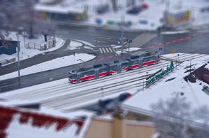Трамвай (тільт-шифт на прохання трудящих)