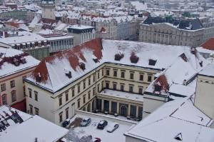 Вид на Брно з собору