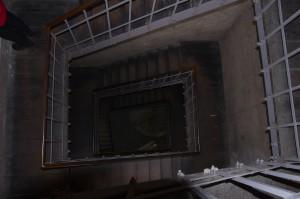 Сходами вниз