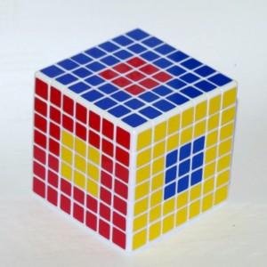 Кубик Рубика 7х7 (різні центри)