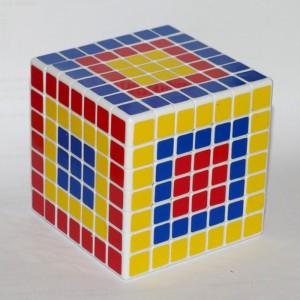 Кубик Рубика 7х7 (різні центри і суміжні з ними елементи)