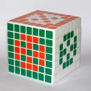 Кубик Рубика 7х7 (модифікований діагональний варіант)