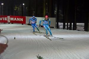 Олена Підгрушна бореться за 2 місце з Карін Оберхофер