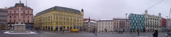 Площа міста Брно