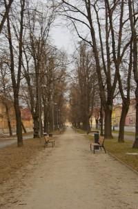 Парк в Кошицях
