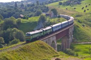 Поїзд Київ-Рахів