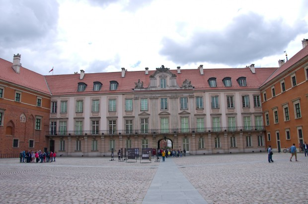 Внутрішній дворик Королівського замку
