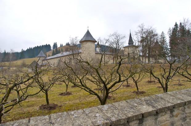 Монастир - вид з дороги