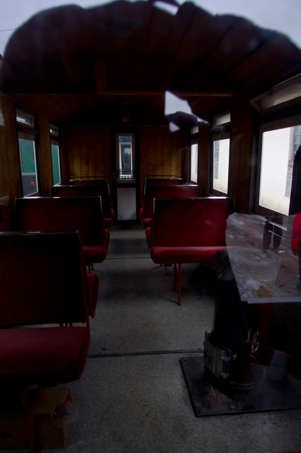 Всередині вагона 1 клас