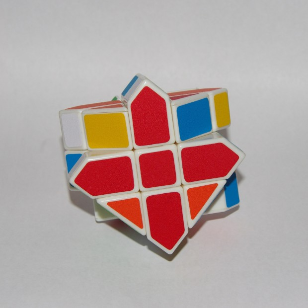 Куб Фішера, складений верхній хрест