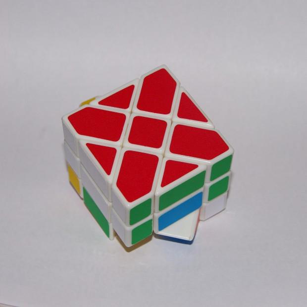 Куб Фішера, складений перший шар
