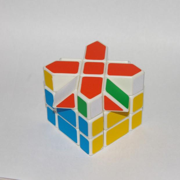 Куб Фішера, зорієнтовані реберні елементи верхнього шару