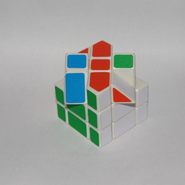 Куб Фішера, верхній шар, без паритету